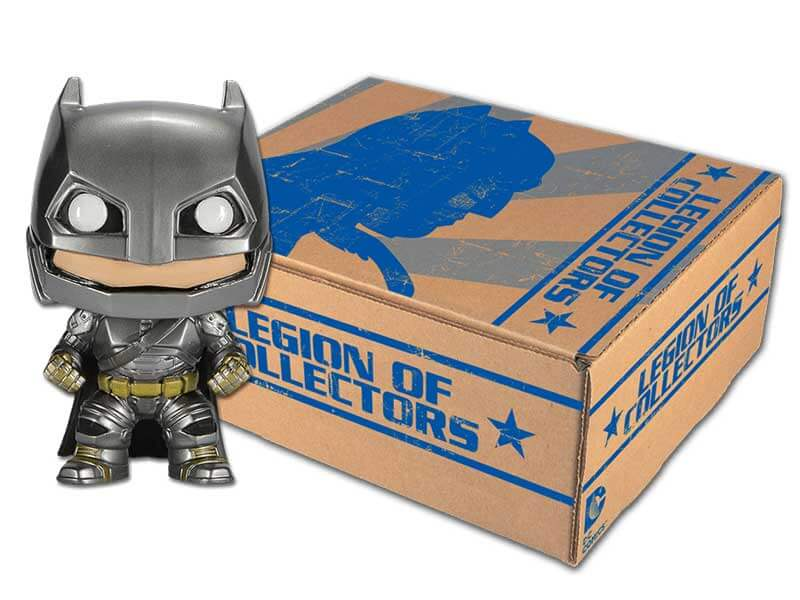 DC Legion of Collectors Armored Batman