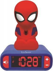 Marvel Spider-man clock night light
