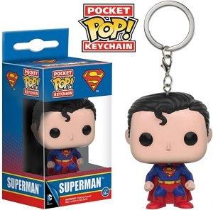 Funko Pop Superman Keychain